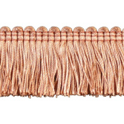 Brushed Fringe Polyester Brushed Fringe, 3.8cm , Light Rust