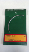 #47 Rapid E Model 317 Curved Stitching Needles, 10 Needles per pack