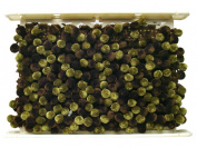 Conso Chocolat Knitted Pom Braid 3.8cm Pistachio