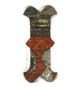 ZENTIQUE Mediaeval Patched Metal Letter, Monogrammed I