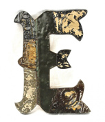ZENTIQUE Mediaeval Patched Metal Letter, Monogrammed