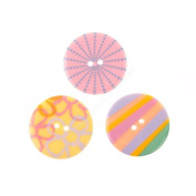 Blumenthal Lansing Pastel Sensations Buttons - 3 Packages of 3 Each