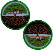 Tree of Life Embroidered Patch 7.6cm