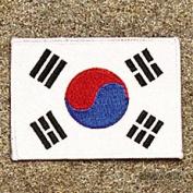 Korea - White Border Patch