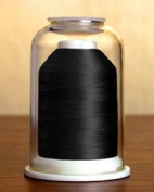 Hemingworth 1000m PolySelect Embroidery Thread - Classic Black 1000