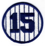 New York Yankees Thurman Munson Retired Number 15 Patch - 7.6cm Round