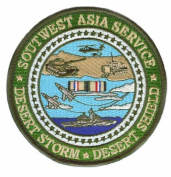 Southwest Asia Service Medal 10cm Patch