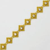 1.3cm Rhinestone Trim, Wedding Trim for Wedding Decoration, home decor, craft projects by 1 yard, TR-10379