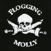 Flogging Molly - Unisex-adult Flogging Molly - Logo Sew On Patch Black