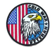 Cold War Veteran 10cm Patch