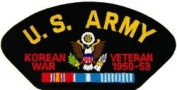 US Army Korea War Veteran Patch