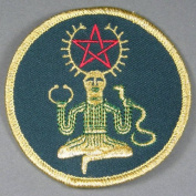 7.6cm Cernunnos Embroidered Cloth Patch, PA16