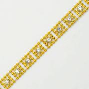 1cm Rhinestone Trim, Wedding Trim for Wedding Decoration, home decor, craft projects by 1 yard, TR-10380