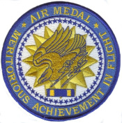 Air Medal Medal 10cm Patch