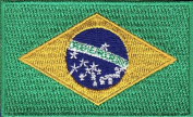 Brazil Embroidered Country Flag Patch