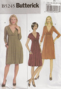 Butterick B5245, Misses' Dress, Size F5(16-24), OOP