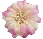 Cuteque International CQRF8 6-Piece Soft Silk Flower, Pink
