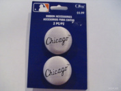 Offray MLB Chicago White Sox Ribbon Accessories Buttons 2 Count