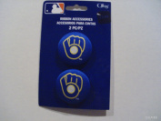 Offray MLB Ribbon Accessories Milwaukee Brewers Buttons