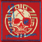 Pirates Of The Caribbean - Mens - Black Pearl Patch Red
