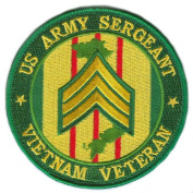US Army Sergeant Vietnam Veteran 10cm Patch