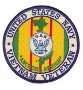 US Navy 10cm Vietnam Veteran Patch