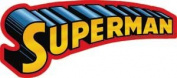Superman Word Logo DC Comics Sticker