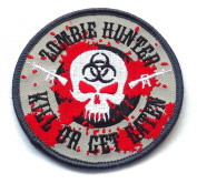 Frank Wiedemann Zombie Outbreak Hunter - Embroidered [7.6cm ] Patch