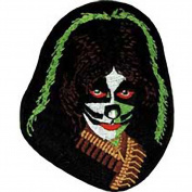 Kiss Peter Chris Face Rock Roll Music Band Embroidered Iron On Patch