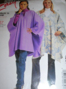 McCalls 4207, Easy Sew, Womens Poncho, Size 20-22-24-26/ Bust 42-48