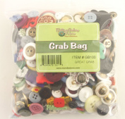 Buttons Galore Great Grab Bag with Craft and Sewing Buttons, 350ml