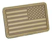USA Flag (Right Arm) Rubber Hook and loop Patch by Hazard 4
