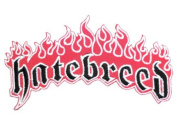 """HATEBREED Flame Logo Iron On Sew On Embroidered Hardcore Metal Patch 4.5""""/12cm x 2.5""""/6.2cm BY MNC SHOP"""