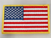 Airsoft US United States USA Flag hook and loop Patch