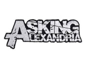 """ASKING ALEXANDRIA Logo Iron On Sew On Embroidered Patch 4.6""""/11.8cm x 1""""/2.5cm By MNC Shop"""