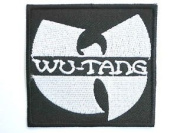 WU-TANG Logo Iron On Embroidered Hip Hop Rap PatchApprox