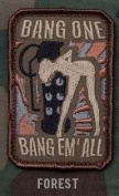 """Mil-Spec Monkey """"Bang One, Bang Em All"""" Patch - Small / Forest"""
