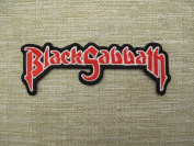 BLACK SABBATH Punk Rockabilly patch Iron on Sew Applique Embroidered patches