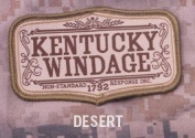 Mil-Spec Monkey Kentucky Windage Morale Patch-Desert