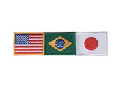 USA America /Brazil / Japan Patch - Small
