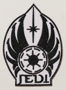 """Republic """"Seal of the Jedi Council"""" Star Wars Embroidered iron-on/sew-on patch"""