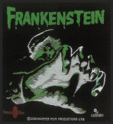 Hammer Horror Frankenstein Woven Patch