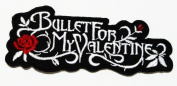 Bullet for My Valentines Logo Iron on Patch Great Gift for Men and Women/ramakian