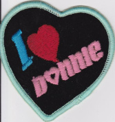 New Kids On The Block Music Patch - NKOTB - I Love Donnie
