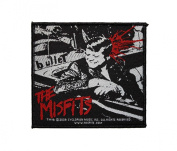 Misfits Kennedy Bullet Rock Music Band Woven Applique Patch