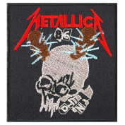 METALLICA 86 Heavy Metal Rock Music Band Embroidered Iron On Patches # WITH.