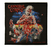 Cannibal Corpse Eaten Back to Life Death Metal Music Band Woven Patch Applique
