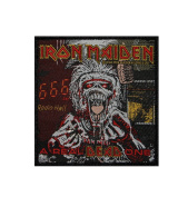 Iron Maiden A Real Dead One Radio Hell Metal Music Band Woven Applique Patch