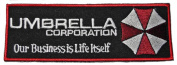 "RESIDENT EVIL Umbrella Corp ""Our Business is Life Itself"" Embroidered PATCH"