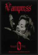 Hammer Horror Vampress Vampire Woven Patch
